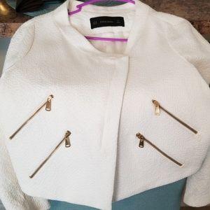 White Zarra Jacket